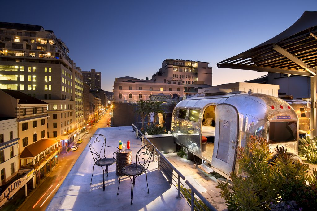 Rooftop Hotel, Cape Town